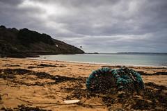 Tides Reach (richardsolway) Tags: lobsterpot fishing beach sea seaside sand ocean waves greatmolunan stanthonyhead cornwall