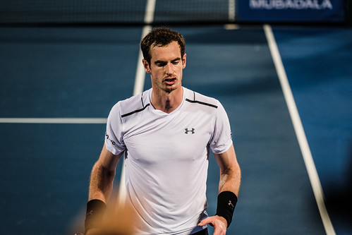 "Andy Murray has a habit of talking to himself • <a style=""font-size:0.8em;"" href=""http://www.flickr.com/photos/125636673@N08/31841955352/"" target=""_blank"">View on Flickr</a>"