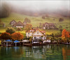 Autumn mist (Katarina 2353) Tags: alps switzerland katarina2353 katarinastefanovic