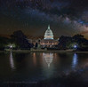 US Capital Reflecting Pool Milky Way (Jerry T Patterson) Tags: wdc washingtondc uscapital congress uscongress reflectingpool monument memorial milkyway astrophotography longexposure workshop photographyworkshop 5dm3