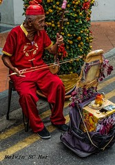 A dedication to the year of the rooster (melvhsc100) Tags: street performer urban cny