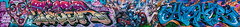 Tizer / Jim Vision / Higher. (Suggsy69) Tags: nikon d5200 graffiti art spraycanart tizer jimvision higher joiner panorama stitched shoreditch london eastlondon