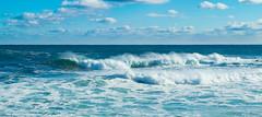 Marching toward shore (wpc302) Tags: novascotia nikon ns d3300 dslr duncanscove canada ca wave surf surfing shore shoreline sea ocean marine cloud halifax