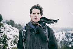 (Mishifuelgato) Tags: nikon d90 50mm 18 carrasqueta puerto retrato portrait snow nieve invierno frio cold simmetry jijona winter españa spain alicante