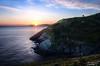 Esperando su turno (Julio Mardones Lastra) Tags: amanecer onton puerto bilbao mar cantabrico barco paisaje landscape