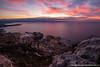 Sunrise Tête de Chien (Damien06300) Tags: canon 6d 1635mm canonfrance france monaco light sunrise city sun cloud soleil hiver lumière amazing rock sea road longexposure