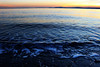 the waves (itsya_boijustin) Tags: seattle mix color colors reflection horizon landscape calm pnw warm cold water blue orange sun sunset empty words beach wash jchallenge discovery park dark opportunity moving coast shore
