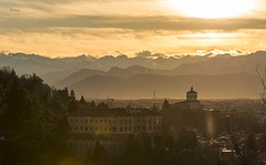 Sunset on Turin (pietronaccari) Tags: nikon nikond750 tamron70300 landscape sky cloud beautiful colors city italy italia piemonte turin torino laquintaessenza ngc flickrestrellas
