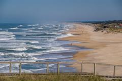 Atlantic Coast Portugal (Kev Cunningham) Tags: beachwalking boardwalk seascape landscape sand wildsea beach waves sea atlanticcoast portugal