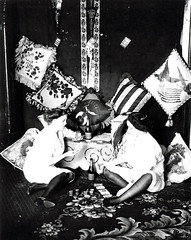 Ladies Of the Night (~ Lone Wadi ~) Tags: prostitutes prostitution brothel bordello cards poker gambling retro 1910s unknown