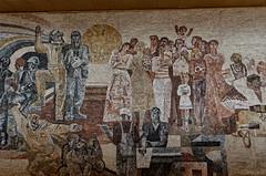 _DSC0013_cw (Wylf) Tags: soviet urss mozaika mosaic urbex cold war youri gagarine ussr hero urbexu history old