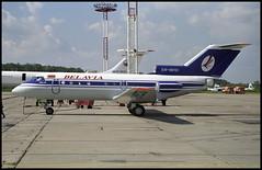 EW-88161 - Moscow Domodedovo (DME) 13.08.2001 (Jakob_DK) Tags: dme uudd domodedovo moscowdomodedovo domodedovointernationalairport 2001 bru belavia belaviabelarusianairlines yakovlev yak yakovlev40 yak40 codling