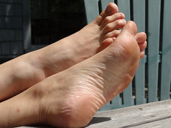 JanF206sized (thermosome) Tags: foot feet mature soles wrinkled milf