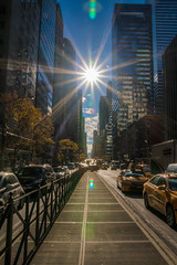 Off to Bloomingdales (21mapple) Tags: bloomingdales newyork new york manhattan usa city state sun sunny cars cabs taxi