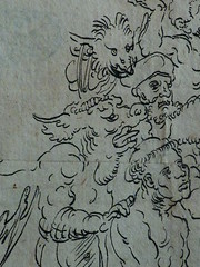 CRANACH Lucas (Ecole) - Le Jugement Dernier (drawing, dessin, disegno-Louvre INV18929) - Detail 15 (L'art au présent) Tags: art painter peintre details détail détails detalles drawing dessins dessin disegno personnage figure figures people personnes dessins16e 16thcenturydrawing 16thcentury peintureallemande germanpaintings tableaux louvre paris france museum lucascranach l'ancien lucas cranach allemagne germany anges angels angel girl femmes jeunefille fille jeune hommes monster hell enfer paradis paradise god dieu vices vice love amour young youngwoman femme jeunefemme bare naked nude nue nudefemale nakedman woman women enfant kid kids children child man men face faces visage portrait