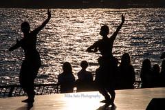 Battery Dance Festival (MikaJC) Tags: nyc sunset silhouette backlight dance performance batteryparkcity robertfwagnerjrpark fridaynightfantasy sonaliskandanandjavadance batterydancefestival