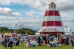 Fish & Chips (Mr Makstar) Tags: england people food fish english britain chips southport southportflowershow