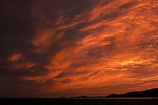 Newgale sunset (Explored 18/08/15)