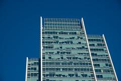 Fresh Faced (photosam) Tags: blue england green london glass architecture skyscraper raw unitedkingdom highrise fujifilm docklands canarywharf modernist eastlondon lightroom towerhamlets kohnpedersenfox xe1 londonboroughoftowerhamlets fujifilmx xf1855mmf284rlmois xf1855mm1284rlmois