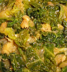 Cabbage mix (Moranga) Tags: green vegan curry cabbage veggie oliveoil coriander kale bokchoy seasalt blackpepper freshginger
