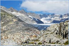 Ghiacciai in estinzione (GioKer1) Tags: landscapes alpi paesaggi montagna paesaggio passi ghiacciaio grimsel furka rodano