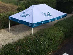 QuickFolding Tent 4x6 - Tent met full color print (1)