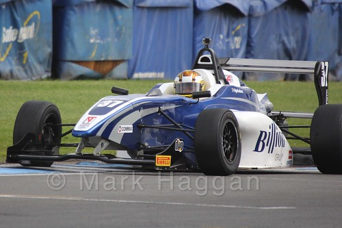 HHC Motorsport's Sisa Ngebulana in BRDC F4 at Donington Park, September 2015