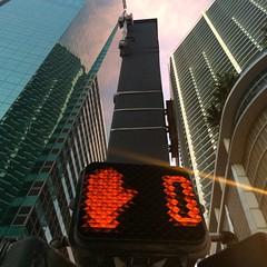 #Stop #lights #buldings #Miami #Downtown (Bruno Abreu) Tags: streetphotography hackney loftus hipstamatic