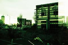 E101718-R1-01-2 (Savviesmith) Tags: camera new winter christchurch sky sunlight film skyline 35mm lomo lomography saturated silhouettes blurred olympus zealand glowing brightness