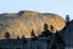 Sunrise on the Dome (isaac.borrego) Tags: california morning sunrise nationalpark yosemite halfdome sierranevada canonrebelt4i