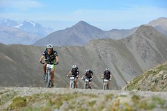 Team adidas TERREX on mountain bikes ARWC 2012