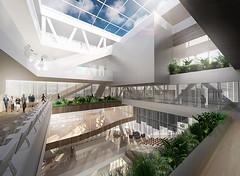 Проект библиотеки Library 2.0 в Копенгагене от Даниэля Майера
