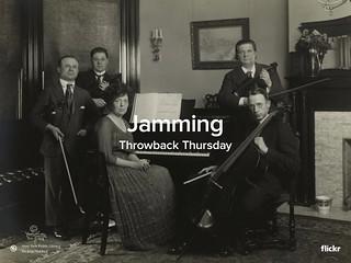 Throwback Thursday: Jamming