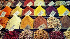 Spices (Barbaros GLER) Tags: istanbul spices bazaar