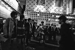 Hachiko Exit (alisdair jones) Tags: street leica people tokyo shibuya m240 superelmarm13421asph