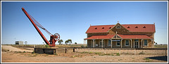 Manna Hill  Railway Station (tim_kavanagh) Tags: abandoned ghosttown outback southaustralia indianpacific