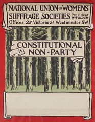 Suffrage campaigning: National Union Of Women's Suffrage Societies1903-1910