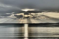 P1030478 (JB Fotofan) Tags: blue sea sun clouds lumix grey meer trkiye wolken grau panasonic trkei blau sonne deniz bulut zdere impressiv kreativmodus fz1000