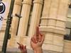 La Peineta del Pueblo (Arrëtez la Musique) Tags: madrid españa spain hand finger no protest demonstration protesta mano crisis dedo insurrection manifestación trimmings recortes peineta protestation cutbacks yeswecan sísepuede rudesign spanishcrisis crisisespañola obtestation alzareldedo