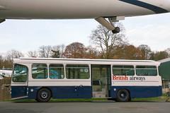 1972 AEC Swift 5P2R/Sparshatts B36D Airport Bus (davocano) Tags: britishairways brooklands airportbus llh889k