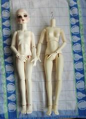 DIM body, new vs. old (pinkeeminenz) Tags: bjd msd legit dim