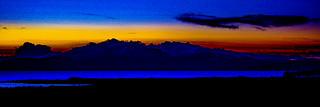 Arran Vivid Sunset
