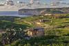 Munxar valley, Gozo - late afternoon in late autumn (explored 20/12/16) (kurjuz) Tags: gozo malta munxar afternoon cliffs goldenlight green paths pricklypear sea stone valley walls