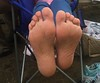 IMG_3152 (Liz Townsend NY) Tags: female feet foot fetish barefeet barefoot barefootin hippy toes painted