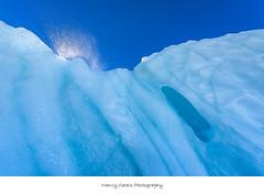 Sparkling Water (Nancy Carels) Tags: alaska glacier ice sun wrangell stelias nationalpark blue august summer melting sparkling water global warming outdoor landscape
