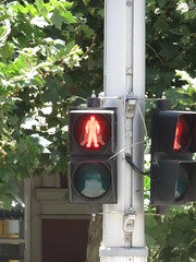 2016 Perth Tour - Braums pedestrian signal with Countdown Timer (RS 1990) Tags: perth westernaustralia wa australia december 2016 tour holiday braums trafficlight signal