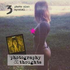 photography & thoughts #3 photozine (parkaboy2009) Tags: photozine miiiezekatze nudemodel bondage nude polaroid portrait indoor outdoor studio color blackwhite square analog