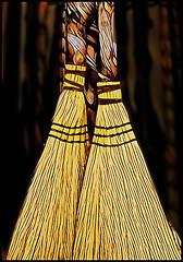 (Cliff Michaels) Tags: nikon photoshop pse9 prisma broom yellow