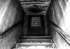 Black door at Skansen in Stockholm 28/12 2016. (photoola) Tags: stockholm skansen djurgården trappor sv door stairs monochrome blackandwhite photoola