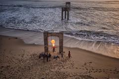 Fire Good © Barry Blanchard 2016 (BarryB.) Tags: canon5dmarkiv beach ocean m600 fire dji
